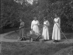 Frelsesarmeens mødrehjem Solfeng. Bilde fra 1920-tallet
