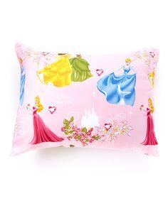Look at this #zulilyfind! Princess Fairy Tales Microfiber Pillow by Disney Princess #zulilyfinds