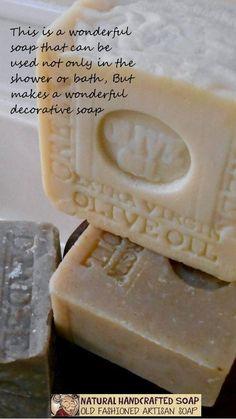 Grandma's Natural Soap Handmade Artisan Handcrafted All Natural - Eczema Skin Care Benefits Soap Making Recipes, Homemade Soap Recipes, Olive Oil Soap, Olive Oils, Acne Soap, Hand Soaps, Decorative Soaps, Soap Maker, Handmade Cosmetics