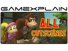 All Cutscenes in Donkey Kong Country: Tropical Freeze (Diddy, Dixie, and...