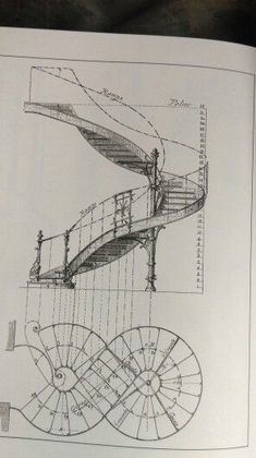 - very nice stuff - share it -Лестница Architecture Concept Drawings, Architecture Sketchbook, Stairs Architecture, Amazing Architecture, Architecture Details, Spiral Staircase Plan, Staircase Design, Staircase Drawing, Plan Sketch