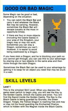 Atari 2600 - Adventure (1979) CX-2613 - Game Program Instructions - Page 7