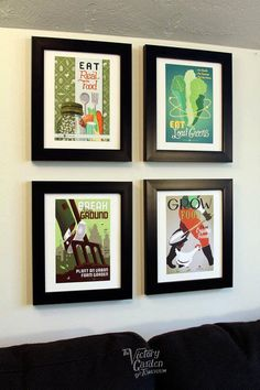 Matted editions 4Pack 8x10 VGoT poster art by joeseppi on Etsy, $36.00