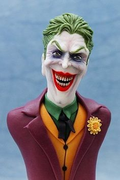 Pretty Cakes, Cute Cakes, Beautiful Cakes, Amazing Cakes, Joker Cake, Le Joker Batman, Realistic Cakes, Fantasy Cake, Sculpted Cakes