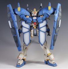 MG Gundam Sandrock 'Armadillo' - Customized Build Gundam Wing, New Mobile, Armadillo, Mobile Suit, Gladiator Sandals, The 100, Guys, Building, Robot