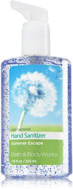 Summer Escape Sanitizing Hand Gel - Soap/Sanitizer - Bath & Body Works