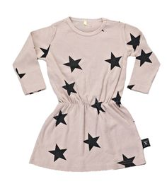 NUNUNU dress star pale pink