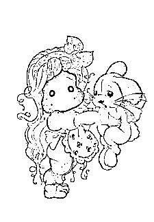tilda with inez the rabbit