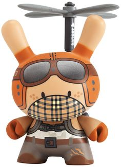 Copter Boy Dunny. By Huck Gee.✋More Pins Like This At FOSTERGINGER @ Pinterest☝✋