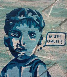 """""""Ya se Cual es? pintura Técnicas mixtas  Arte Galva Adnan Galva"""