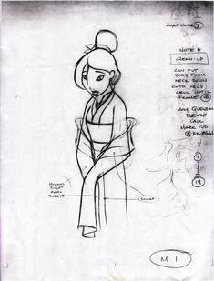 Living Lines Library: Mulan (1998)