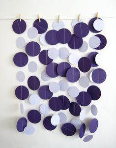 Paper circles backdrop idea again