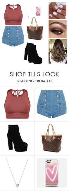 """""""Adelaine Morin Inspiration"""" by brauerisabelle on Polyvore featuring Pierre Balmain, Louis Vuitton, Links of London and Casetify"""