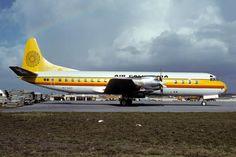 Air California Electra beginning rotation.