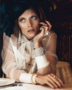 """The Terrier and Lobster: """"Chic Ultime"""": Malgosia Bela by Lachlan Bailey for Vogue Paris"""