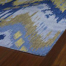 Casual 50 Castaway Blue Rug. Wayfair.com  8x11  $739