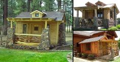 Now These Rustic Log Cabins Are Different.. Can You See Why