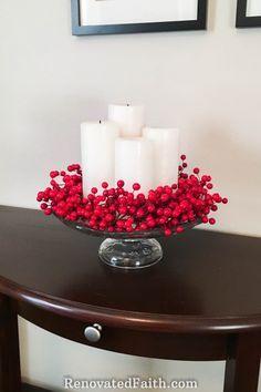 Why Celebrate Advent {Modern Advent Wreath Ideas} #centerpiece #adventwreath #Christmasdecor