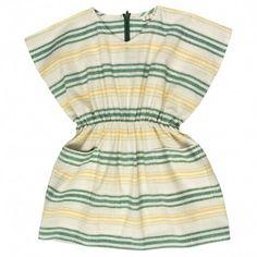 stripe square dress