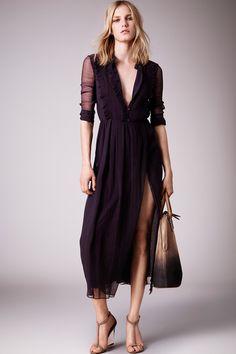 Vestido - Moda Piscina - Burberry Resort 2015