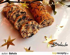 Datle, fíky, rozinky, ořechy, pomerančovou kůru nadrobno nasekáme, přidáme ostatní suroviny a zpracujeme. Jakmile se všechno spojí, tak vytvoříme... Banana Bread, Herbs, Pasta, Herb, Noodles, Spice, Pasta Dishes