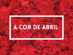A cor de abril : O democrático vermelho