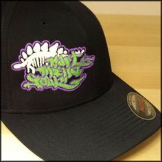 Early release - Hart Mind Soul Graffiti / Dinosaur FlexFit, fitted hats from the HMS nation