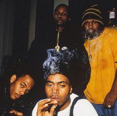 Mobb Deep, Nas and Raekwon, '90s.