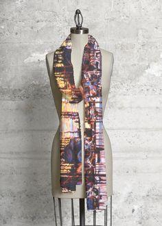 Modal Scarf - Primary Zen-cat scarf by VIDA VIDA Hot Sale Online 5YRiMnR