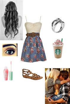 """Arizona's Outfit for School/ Ty's house"" by hannah-432 ❤ liked on Polyvore"