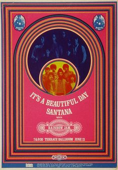 It's A Beautiful Day and Santana @ Terrace Ballroom  SLC Ut