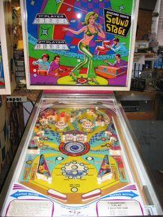 """1976 Sound Stage """"Chicago Coin """" Pinball Machine"""