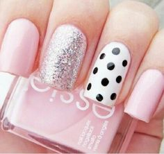 Pink and spots