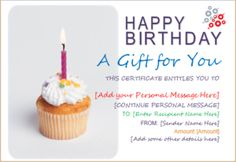 birthday gift certificate template for word document hub document templates