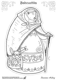 Russian Children Coloring Page: Winter Olympics Crafts for ...