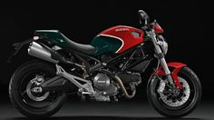 Ducati Monster 696 Red Motorcycle