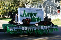 Homecoming Float | Candy Theme | Junior Mints | Five Pines