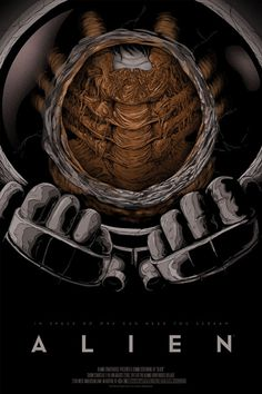 Alien Poster by Randy Ortiz