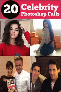 19 Hilarious Photoshop Fails 2019 - Bad Celebrity ...