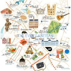 Personalised map of Brussels, perfect for destination weddings. Perfect as part of your invitation or wedding website! Get in touch with The Event Artisan for more info