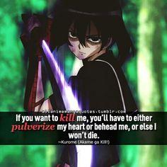 Kurome~ Akame ga kill!