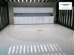 Car Turntable Suppliers and Manufacturers in Cheshire UK - spin-it Driveway Car Turntables Ltd. Case Studies for Driveway Parking Turntables - Aston Martin
