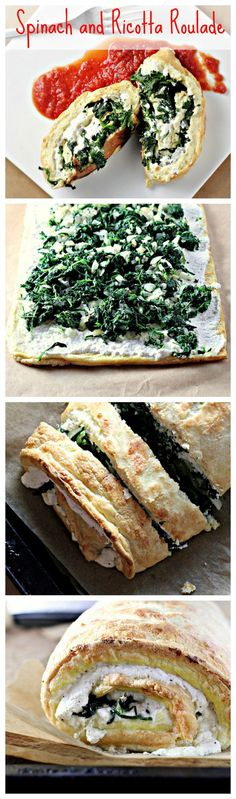 Spinach and Ricotta Roulade