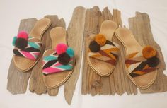 So cute Wayuu sandals Boho Chic, Sandals, Beach, Instagram Posts, Cute, How To Wear, Shoes, Fashion, Crochet Sandals