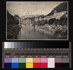 Titel Laibach Autor Kail, A. Technik Federzeichnung Datierung um 1900 Red Green Yellow, Blue, Magenta, Monochrome, Author, Pen Drawings, Monochrome Painting