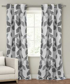 Look at this Gray Karine Panel - Set of Two on #zulily today!