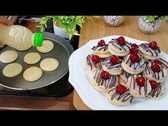 Νόστιμα μπισκότα χωρίς φούρνο! Με λίγα συστατικά σε λίγα λεπτά! - YouTube Biscuit Cookies, Yummy Cookies, Biscuits, Arabic Food, Few Ingredients, Sin Gluten, Four, Cookie Bars, Cookie Recipes