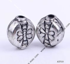 Round Dragonfly Metal Jewelry Bracelets Making Findings Beads Charms  #eozy
