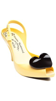 I know, I know. More Melissa for Viv Westwood. But these never get old for me. Yellow for spring!