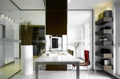 Modern Home Office Office Design, Pictures, Remodel, Decor and Ideas - page 23
